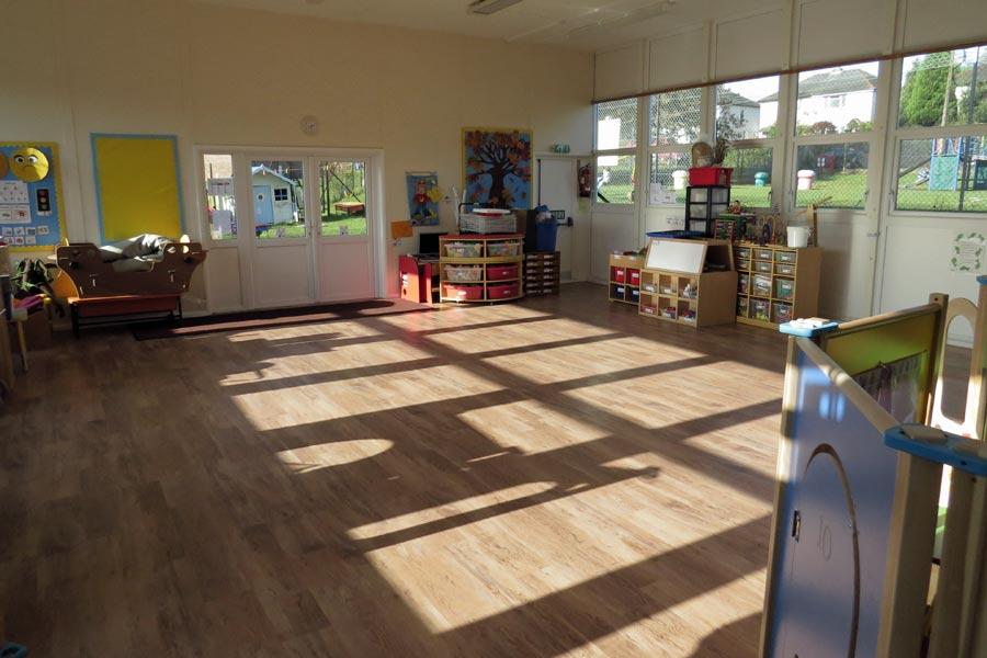Barn Meadow Community Hall Amersham - internal view;