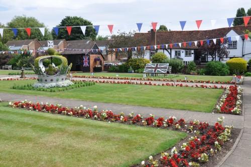 memorial garden old amersham
