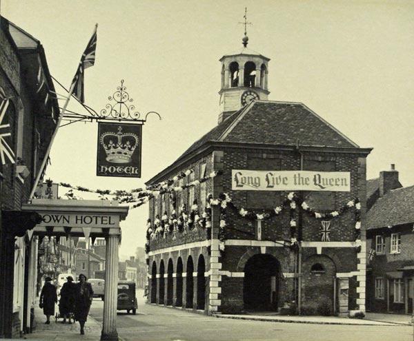 amersham market hall at queen's coronation