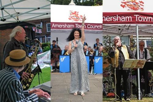 band concert montage amersham town council