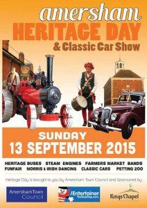 amersham heritage day poster 2015