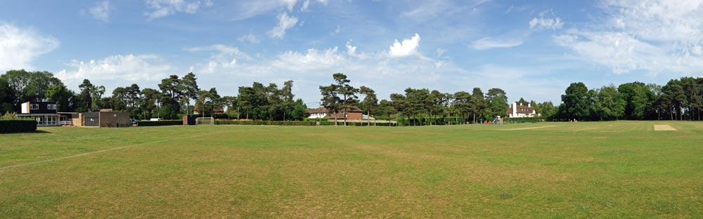 Hervines Park playing fields, Old Amersham