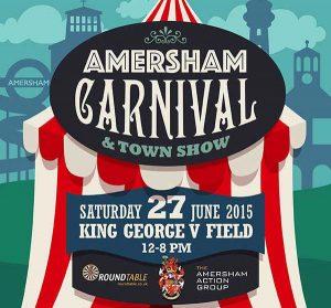 poster for amersham carnival 2015