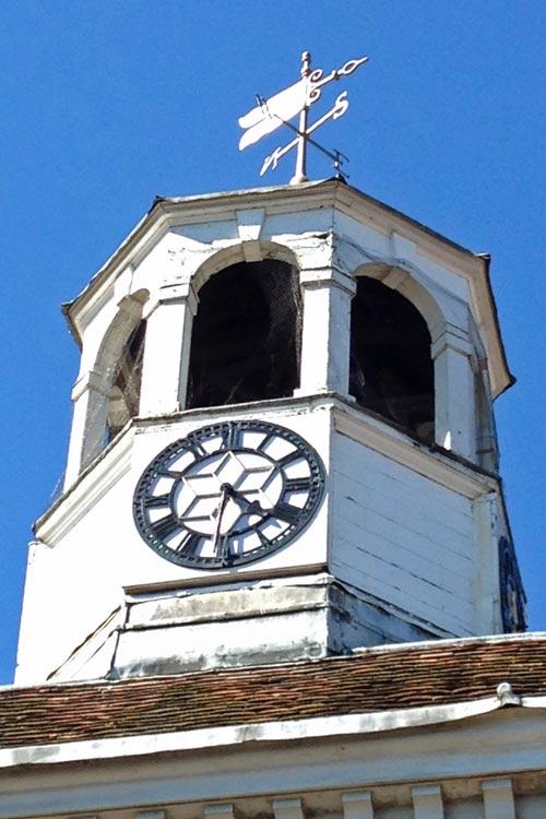 Amersham Market Hall clock tower