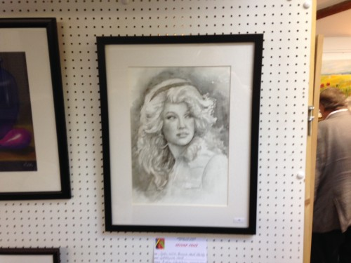 second prize winner in the 2015 Amersham Arts Festival - monochrome stidy of a woman