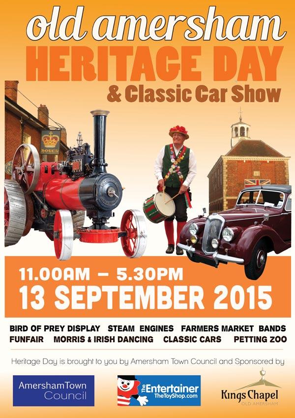 amersham 2015 heritage day poster