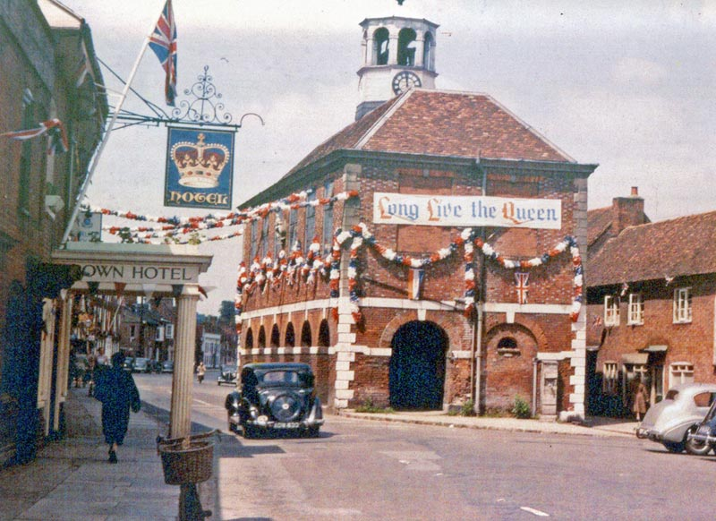 market hall amershamm 1952