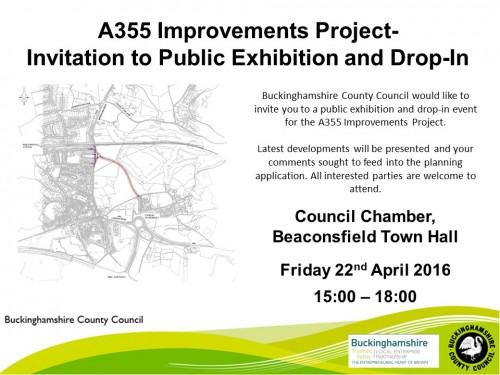 A355 Consultation Evening